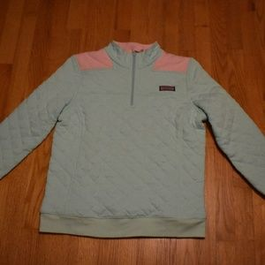 Vineyard Vines Quilted Shep Shirt Mint